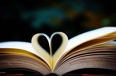 Book Heart Pages